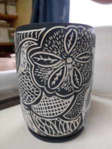 Sgrafitto Vase #1