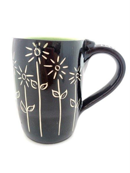 Pottery coffee mug