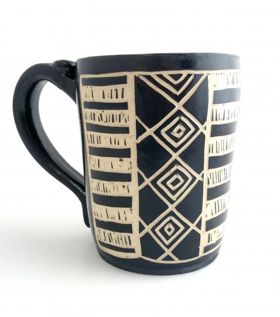 Southwestern Mug in Black